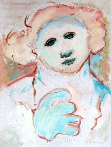 """Untitled"" acrylic on board, 1990"