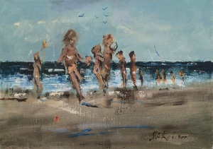 Figures on Beach-CH